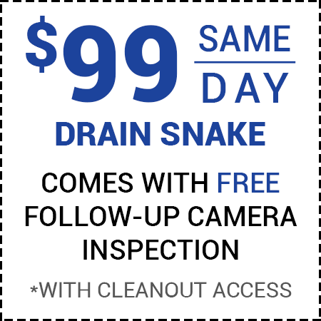 99 Off Drain Service - Call For Details